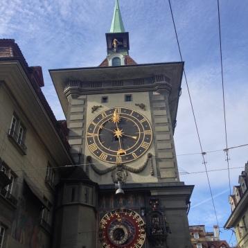 Clock tower in Bern